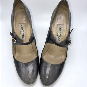 Jimmy Choo sexy patent leather heels size 7.5